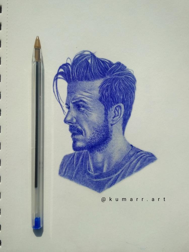 David Beckham by Kumarr